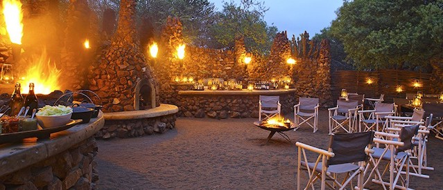 safari dinner in the boma